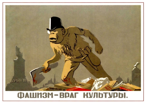 Fascism - is the enemy of culture. 1939