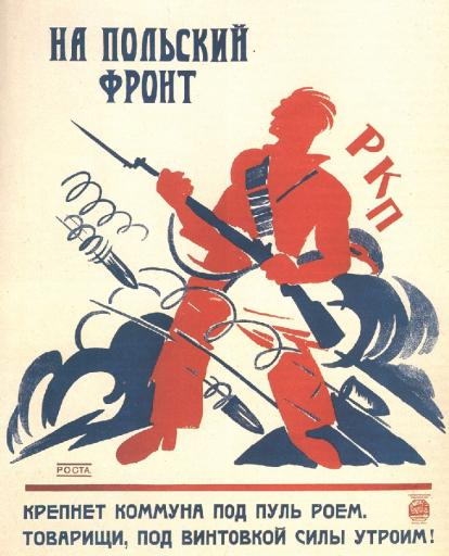 To the polish front