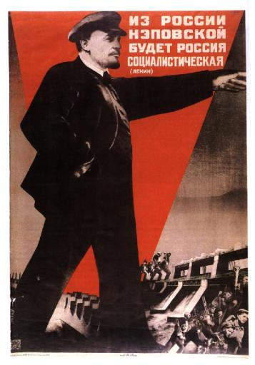 Out of NEP Russia there will be a socialist Russia