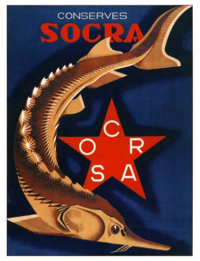 Canned foods SOCRA 1932