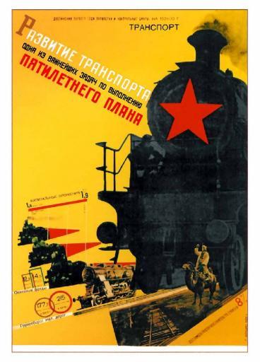 The development of transport 1929