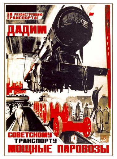 We (vote) for renovation of the Soviet transport