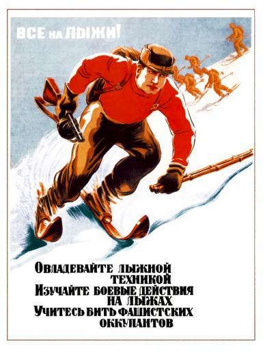 Everyone to skis! 1942