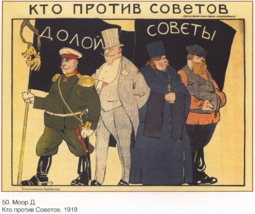 Who is against Soviet
