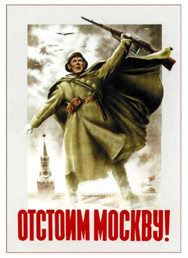 Will defend Moscow! 1941