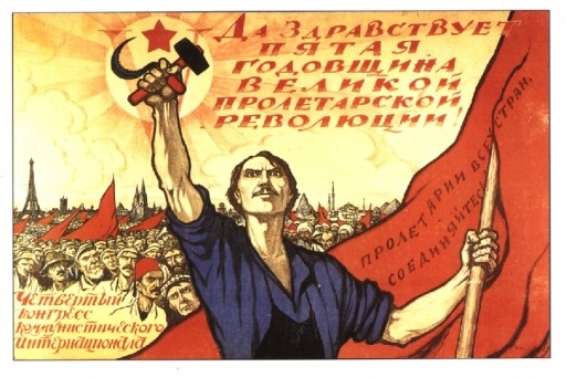 Long live the 5th anniversary of the Great October Proletarian Revolution!