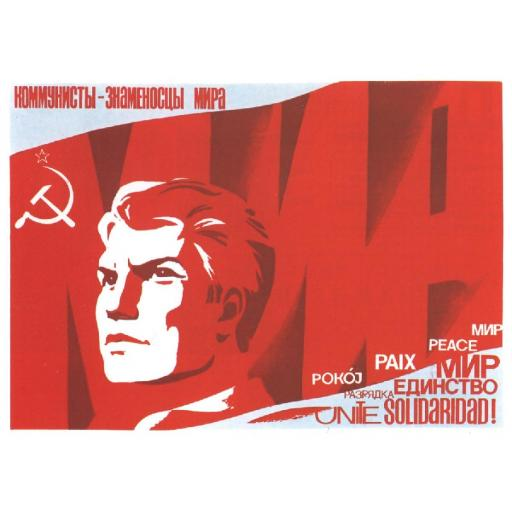 Communists are the standard bearers of peace