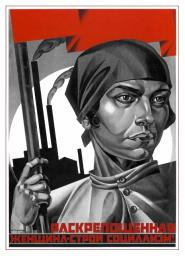 Liberated woman - build up socialism! 1926