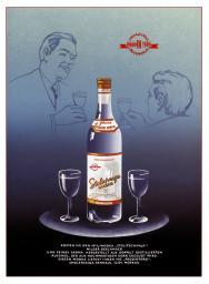 Stolichnaya vodka 1965